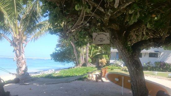 Arorangi, Cook Eilanden: Stress Management Office at the Shipwreck Hut
