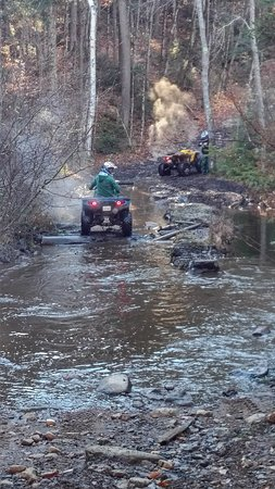 ATV'ng on rental L1FE machines for a weekend in Haliburton