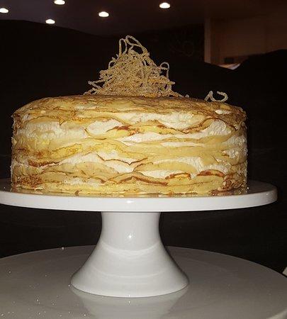 Yo'R So Sweet: Crepe Suzette Crepe Cake with Ciandied Citrus Zest