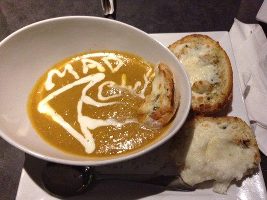 Courtenay, Canada: Orange Dragon Bisque. omg.