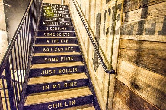 Punch Bowl Social Schaumburg: Best Stair Case Ever