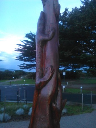 Apollo Bay, Australia: One of many of the Sculptures on Display in the park. [July 2016]