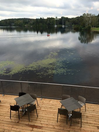 Esterel, Canadá: Terrasse du bistro