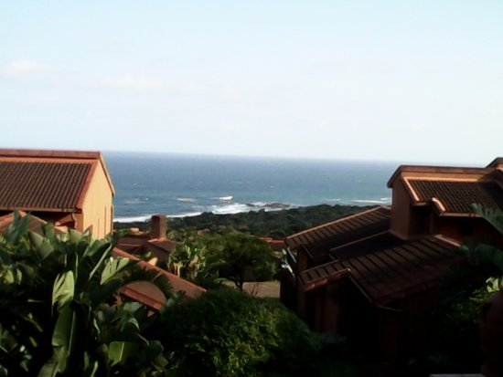 View from the balcony in San Lameer Estate, stunning!