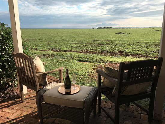 Stanley, Australia: The Postmasters Suite Private Patio