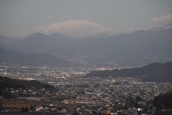 Nanakusa No Yu: 日暮れ前、客室503号からの眺望(2016年11月28日)