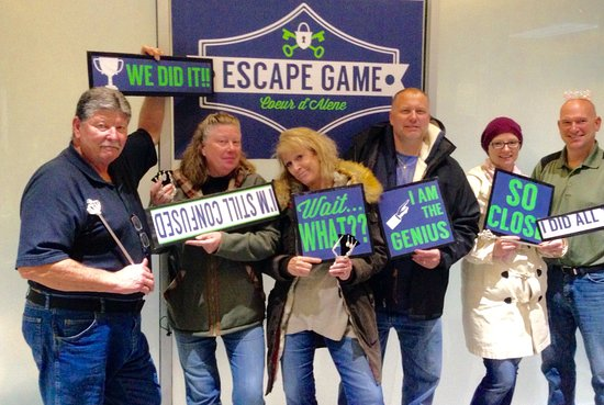 ‪Escape Game Coeur d'Alene‬