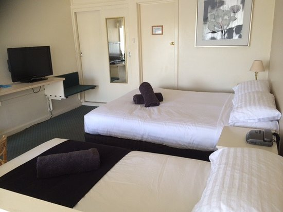 Abel Tasman Airport Motor Inn: Twin room