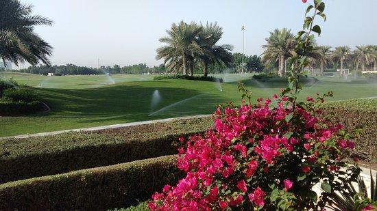 The Westin Abu Dhabi Golf Resort & Spa: Terrace view