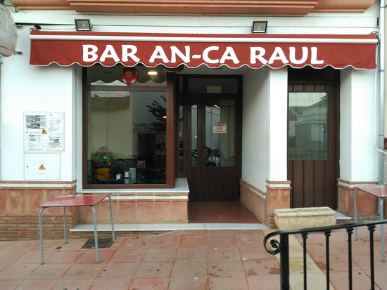 Sierra de Yeguas, Spain: Bar An Ca Raul