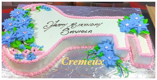 Cremeux Cafe Bistro 21st Birthday Customized Cake