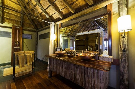 Linyanti Reserve, Botswana: En-Suite Facilities at Savuti Camp