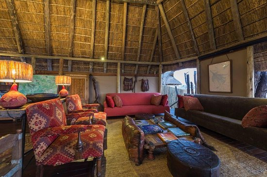 Linyanti Reserve, Botswana: Main Area at Savuti Camp