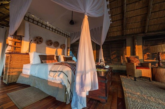 Linyanti Reserve, Botsuana: Guest Tents at Savuti Camp