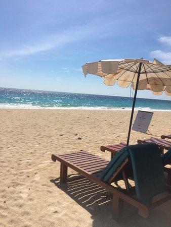 Maiton Island Resort : スピードボートであっという間に行けるし他のビーチにはない綺麗さでした。