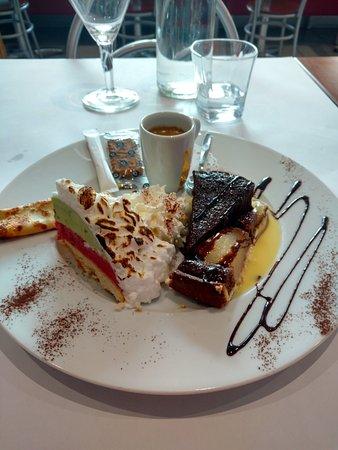 Bron, Γαλλία: Café gourmand