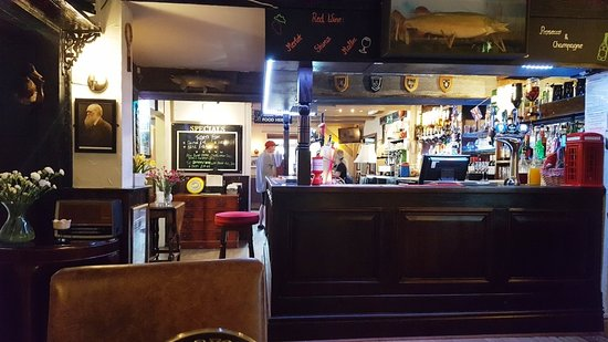St Pirans Inn : The bar area