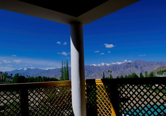 Mantra Cottage: This is the view from the room on the 2nd floor