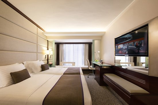 Regal Kowloon Hotel: Room Hollywood Twin Bed