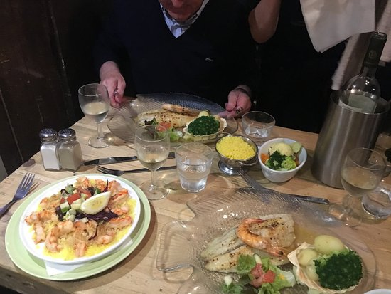 Tramore, Irlande : Fresh Prawns in Butter