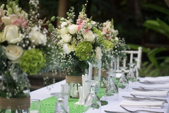 Mas, Indonesien: Perfect setting for an intimate wedding