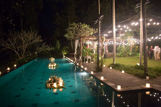 Mas, Индонезия: Perfect for an intimate wedding reception