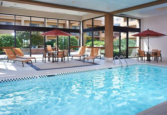 Oakbrook Terrace, Ιλινόις: Indoor Pool