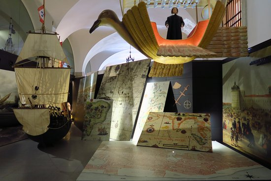 Lisboa Story Centre: An exhibit