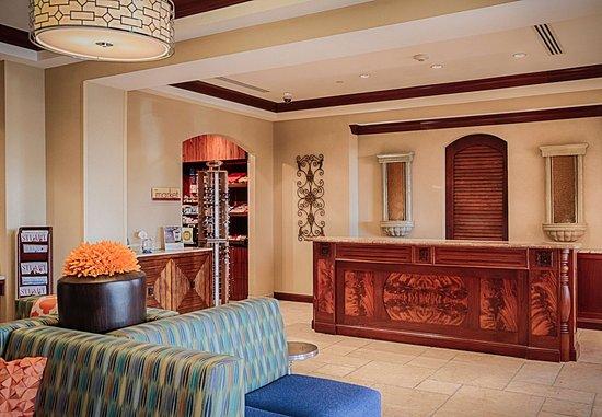 Jensen Beach, Floryda: Front Desk & Lobby
