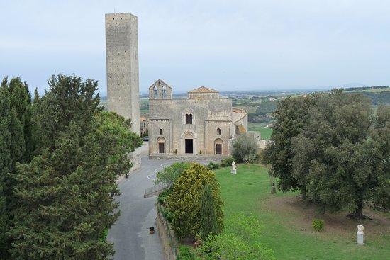 Tarquinia, Italie : S. Maria in Castello