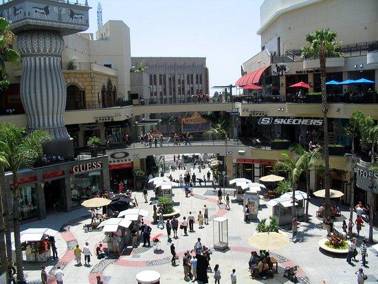 Hollywood: vue du centre commercial