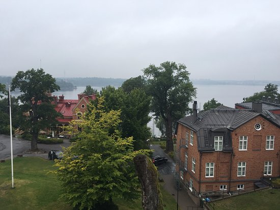 Nacka, Sweden: View out from our room