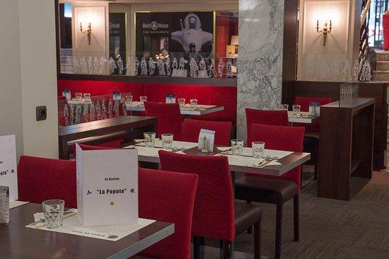 Cercle National des Armees Saint-Augustin: restaurant la Popote