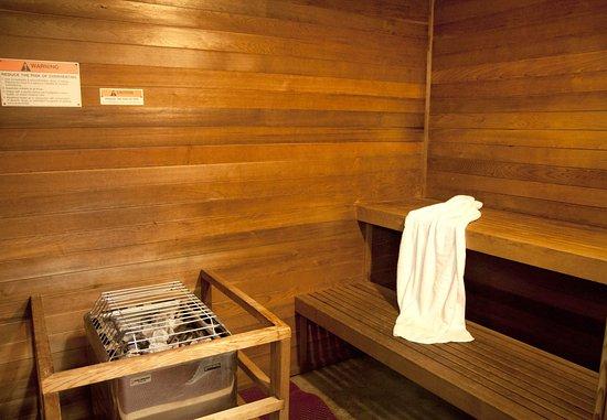 Salida, كاليفورنيا: Sauna Room
