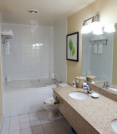 Belleville, Kanada: King Whirlpool Studio Suite Bathroom
