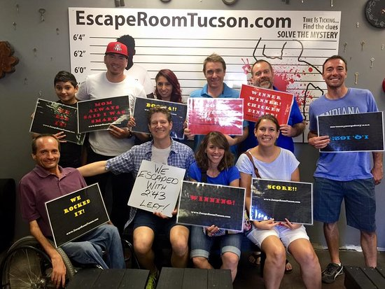 Escape Room Tucson birthday parties Picture of Escape Room Tucson