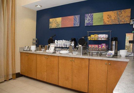Anderson, Carolina del Sur: Breakfast Area
