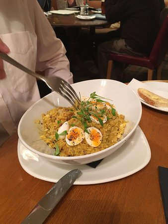Meikleour, UK: Kedgeree