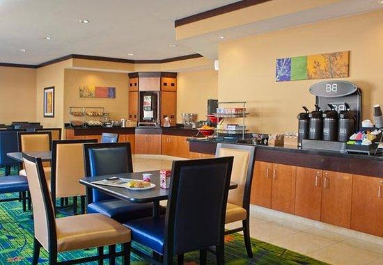แชมเพน, อิลลินอยส์: Breakfast Seating Area