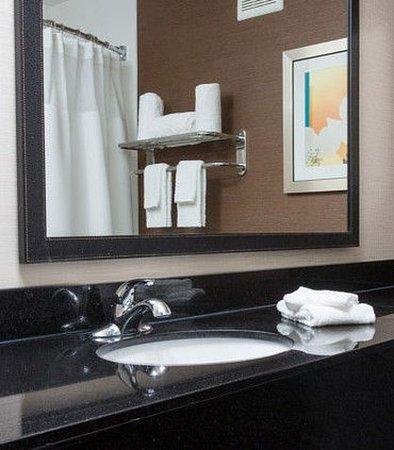 Terre Haute, IN: Suite Bathroom