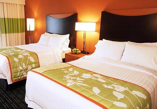 Henrietta, Нью-Йорк: Double/Double Guest Room