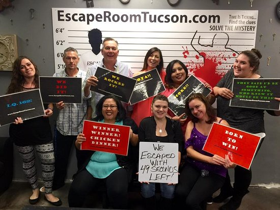 escape room tucson company christmas party picture of escape room