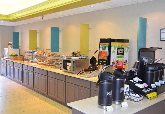 Hickory, North Carolina: Breakfast Area