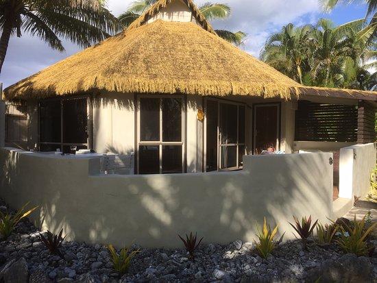 Arorangi, Cook Eilanden: Beach front villa
