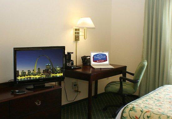 Fenton, Μιζούρι: Guest Room Work Desk