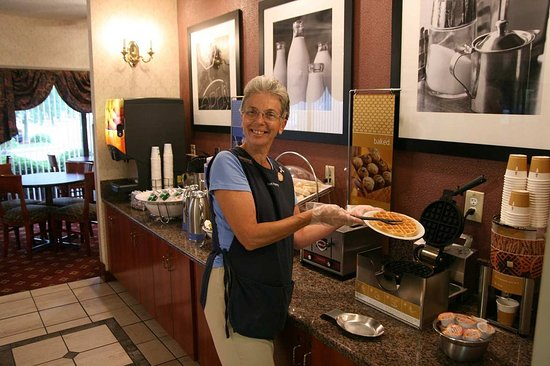 Grove City, OH : Breakfast Waffles