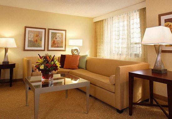 East Elmhurst, Estado de Nueva York: Suite Living Room