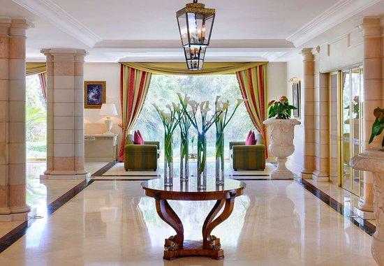Amman Marriott Hotel: Entrance