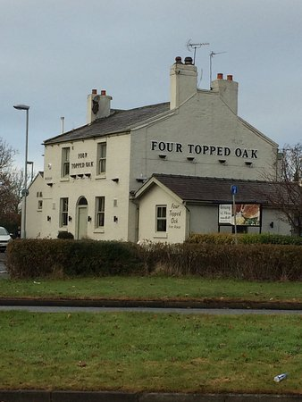 Widnes, UK: Four Topped Oak