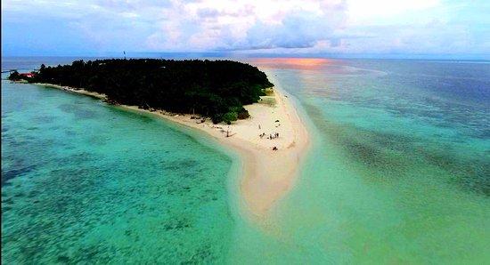 Kuri Inn : остров Омаду с квадрокоптера